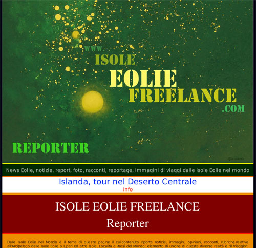 Isole Eolie Reporter, logo